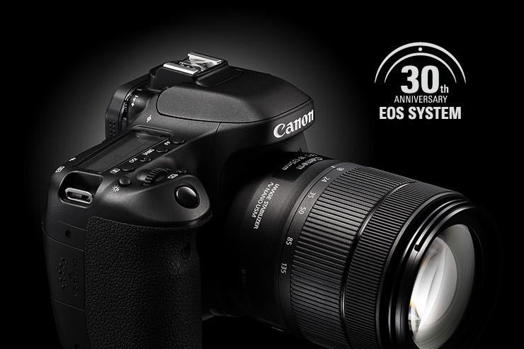 Electro Optical System, Canon festeggia i 30 anni del sistema EOS