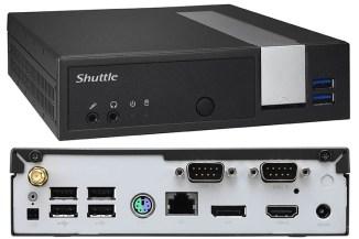 Shuttle XPC slim DX30, l'evoluzione dei miniPC fanless