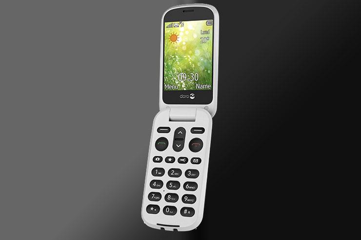 Doro 6050, il feature phone per l'utenza senior