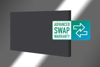Panasonic, arriva la garanzia swap per i display professionali