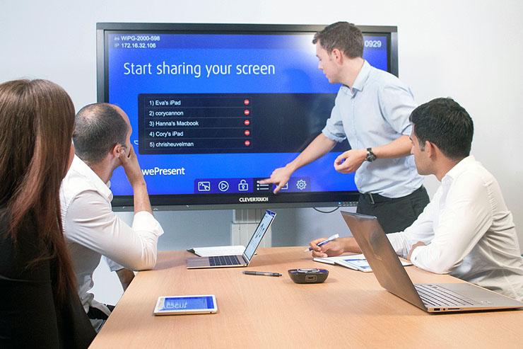 wePresent crea la sala conferenza wireless e all'avanguardia