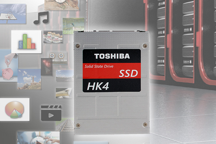 Toshiba HK4 SSD, più scelta per i server Dell EMC PowerEdge
