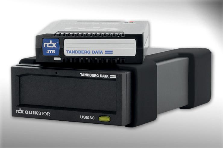 Overland-Tandberg, disponibile l'utility RDX per MAC