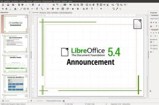 LibreOffice 5.4, documenti facili e open-source anche in cloud