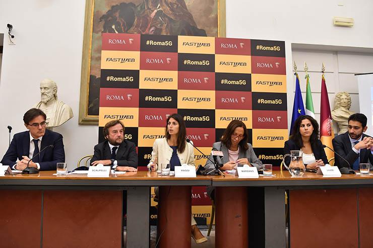 Roma Capitale e Fastweb, al via la sperimentazione 5G e Wi-Fi