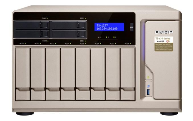 QNAP TS-x77, NAS business con CPU AMD Ryzen