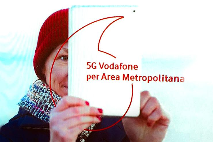 Vodafone, a Milano parte la sperimentazione 5G