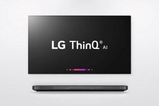 CES 2018, LG svela le TV intelligenti con IA ThinQ