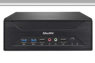 Shuttle XH270, il miniPC con quattro slot drive