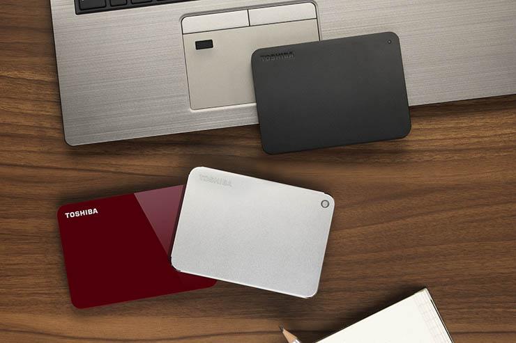 Canvio, la famiglia di storage portatile Toshiba si rifà il look