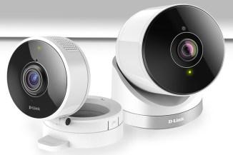 D-Link DCS-8100LH e DCS-2670L, videocamere 180° compatte