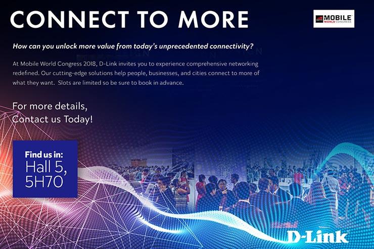 D-Link, tante novità al Mobile World Congress 2018
