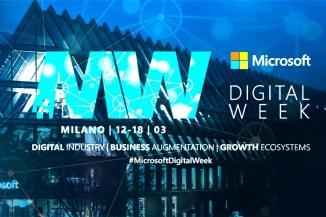 Microsoft Digital Week, eventi e novità firmati Microsoft Italia