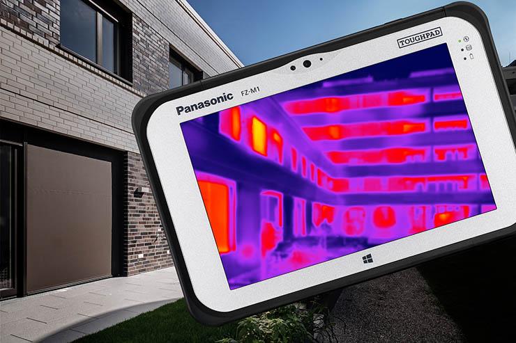 Panasonic FZ-M1, tablet rugged con termocamera Lepton FLIR