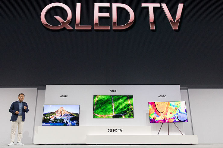 Samsung lancia gli avveniristici Tv QLED anche in Italia
