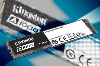 Kingston A1000, lo storage NVMe entry-level