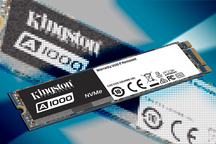 Kingston A1000, lo storage NVMe entry-level