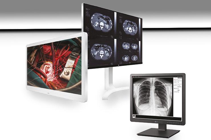 Exposanità, LG mostra tre modelli per il settore medicale