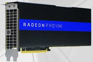VMworld, svelata la dual-GPU VDI AMD Radeon Pro V340