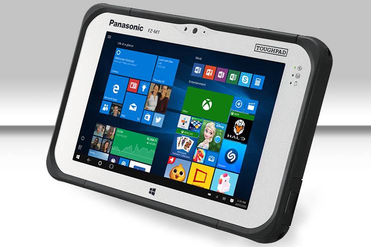Da Panasonic ecco la versione aggiornata di Toughpad FZ-M1