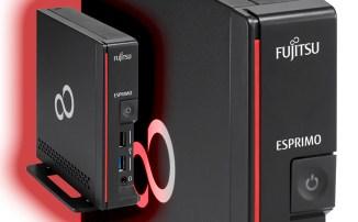 Fujitsu Esprimo G558, il mini-PC da ufficio con CPU Intel Core