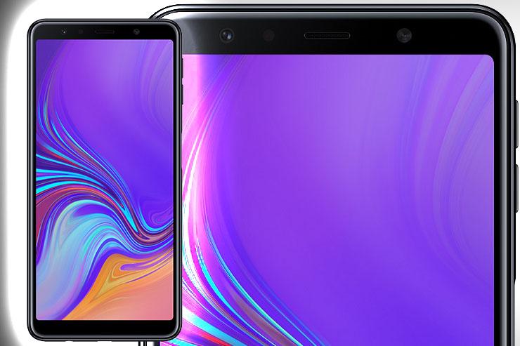 Samsung Galaxy A7, primo della serie con tripla fotocamera