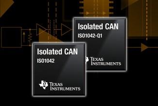 TI svela i transceiver isolati per Controller Area Network