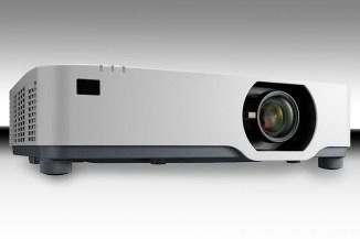 NEC P525WL e P525UL, videoproiettori silenziosi ed efficienti