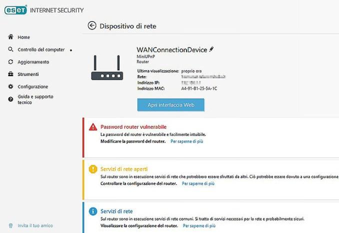 ESET Internet Security, protezione leggera e versatile