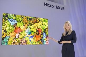 Samsung, al CES2019 gli schermi del futuro con Micro LED