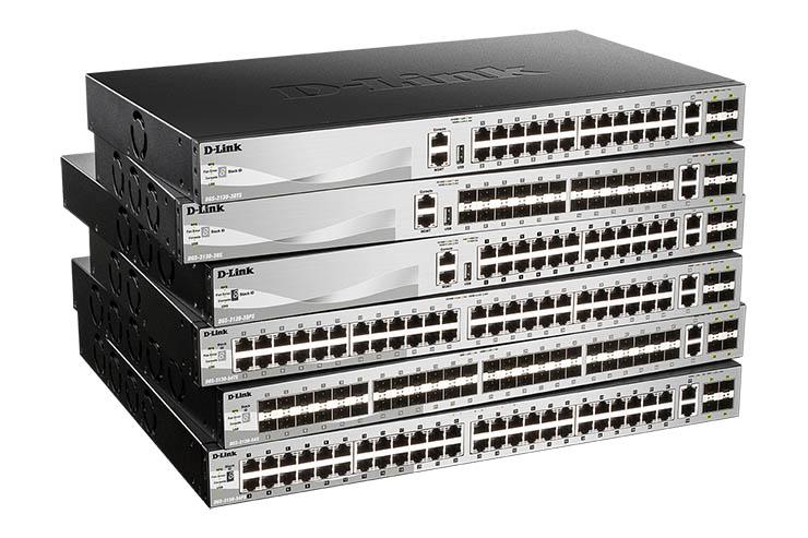 D-Link, arriva la serie di switch Managed DGS-3130