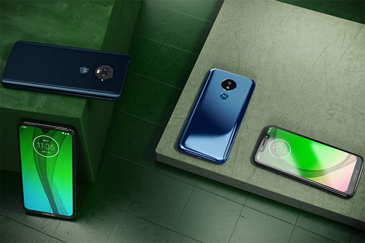 Motorola annuncia quattro smartphone della famiglia g7