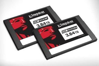 Annunciate le unità Kingston SSD Enterprise Data Center 500
