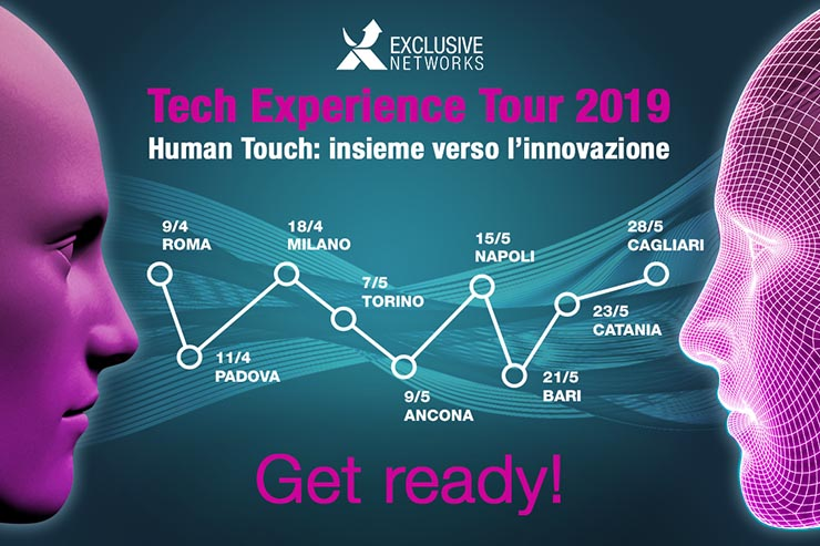 Exclusive Networks, in arrivo il Tech Experience Tour 2019