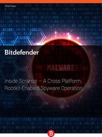 Bitdefender mette in guardia contro il malware Scranos