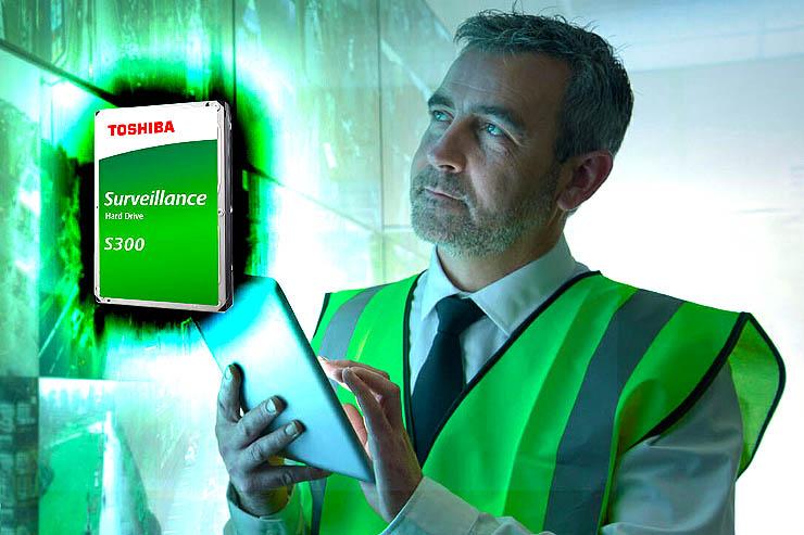 Toshiba S300, sicurezza e affidabilità per la videosorveglianza