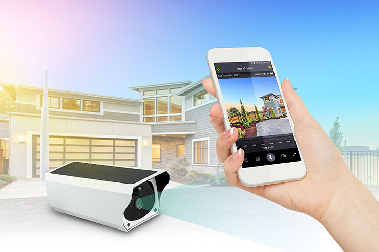VIA, presentata la nuova Camera VPai Smart Security Solar IP