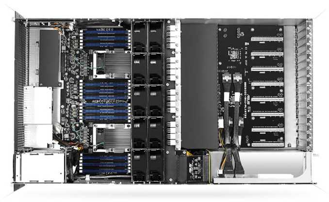 Asus usa i nuovi Intel Xeon Scalable per i propri server