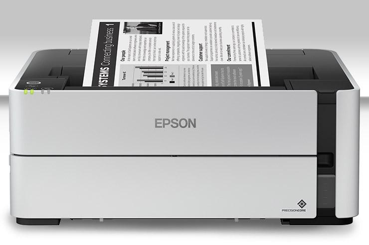 Arrivano a dieci le stampanti monocromatiche EcoTank di Epson