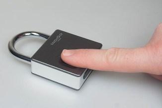 Indigo Indigo Lock, lucchetti smart con sensore biometrico