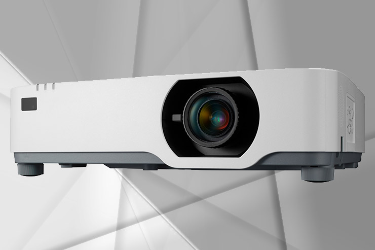 NEC P605UL, il proiettore laser a bassa rumorosità