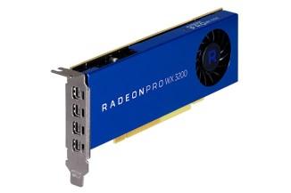 AMD Radeon Pro WX 3200, grafica per professionisti