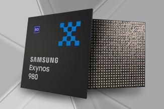 Samsung Exynos 980, connettività 5G e potenza basata sull'IA