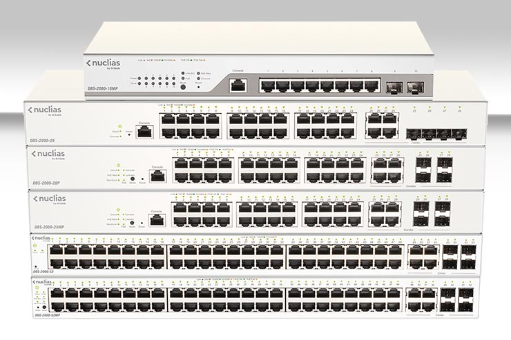 D-Link migliora l'offerta Nuclias Cloud Networking Solution