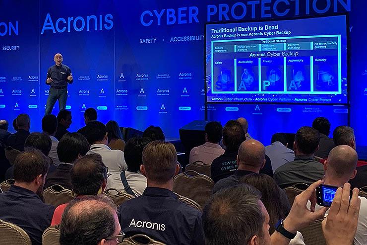 Acronis Global Cyber Summit 2020, formazione, esperti, eventi