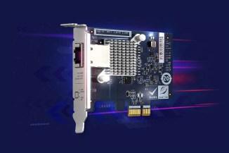 QNAP QXG-5G1T-111C accelera le attività di rete