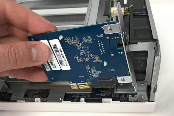 networking QNAP per una rete 5 GbE