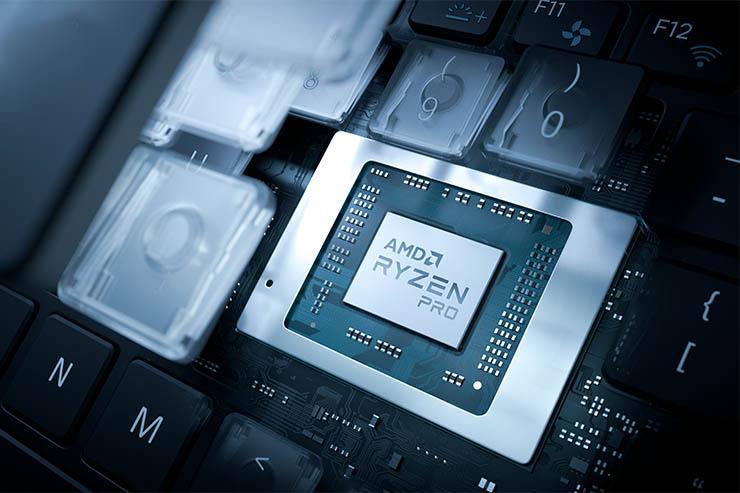 Mobilità sicura e veloce con AMD Ryzen