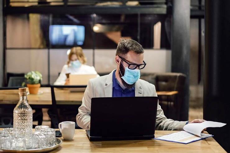 Impatto dell'epidemia sul lavoro