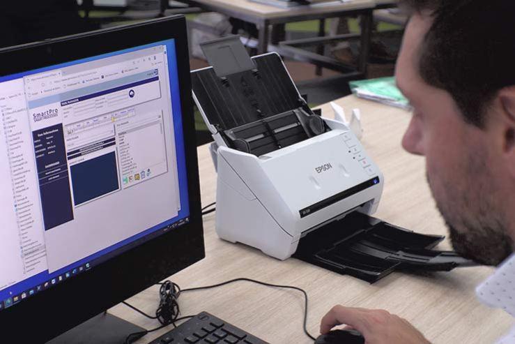 Sportello digitalizzato Epson SmartPro